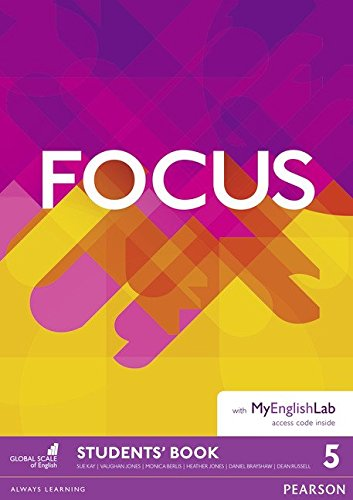 Focus BrE 5 Students' Book & MyEnglishLab Pack