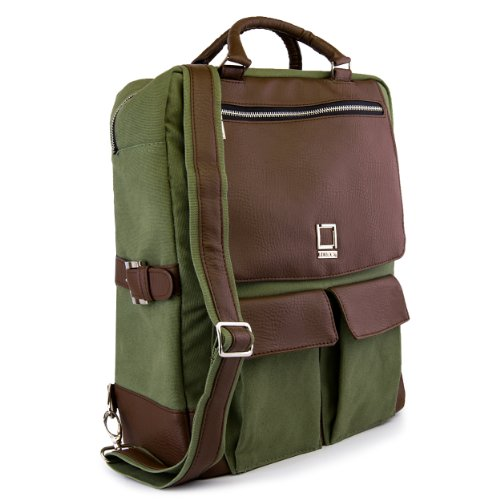 lencca-alpaque-crossover-backpack-for-laptop-apple-macbook-pro-air-notebook-forrest-green-and-espres