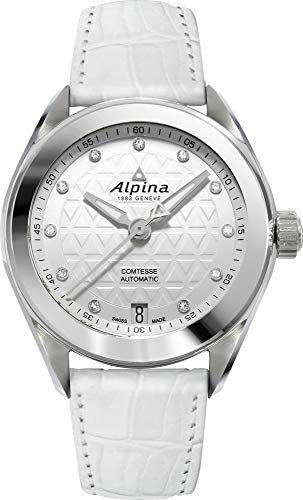 Alpina Geneve Comtesse Automatic Orologio automatico donna con diamanti...