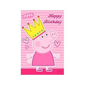 Peppa pig happy birthday greeting card toys games - Peppa pig a imprimer ...