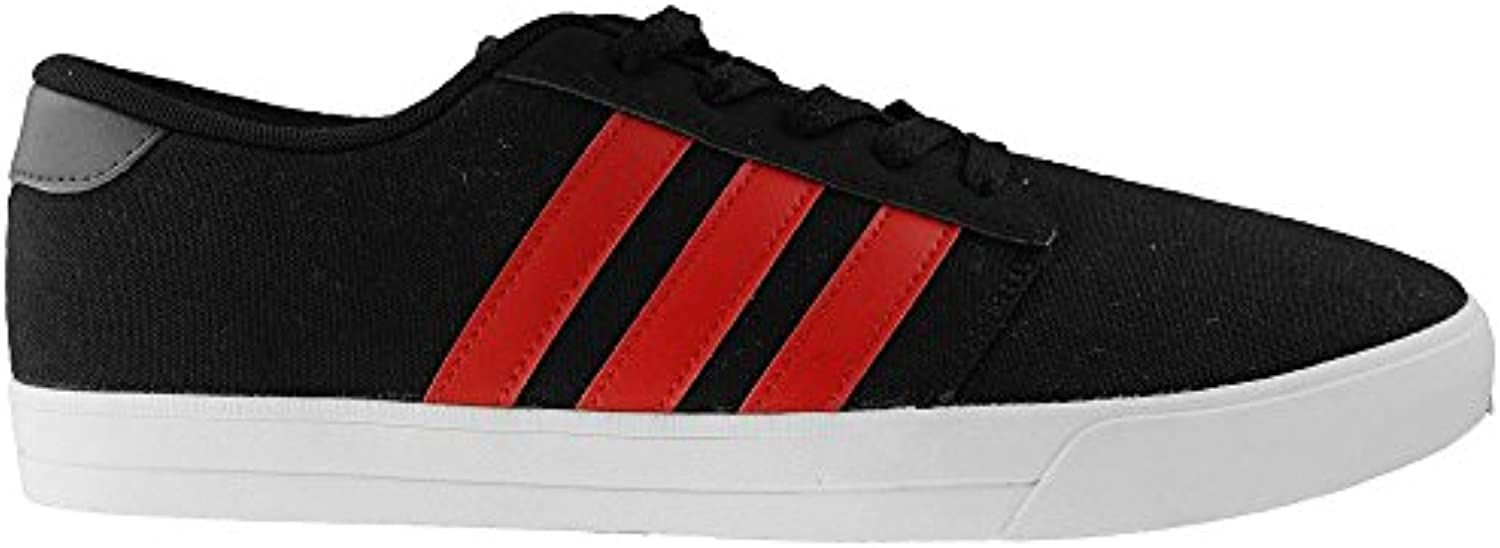 Adidas Men's Vs Skate Shoes, Shoes, Shoes, Black (negbas/escarl/grpudg), 7.5 UK (41 1/3 EU) edf032