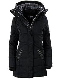 Urban Surface Damen Winterjacke Wintermantel Steppjacke Kapuze Outdoor