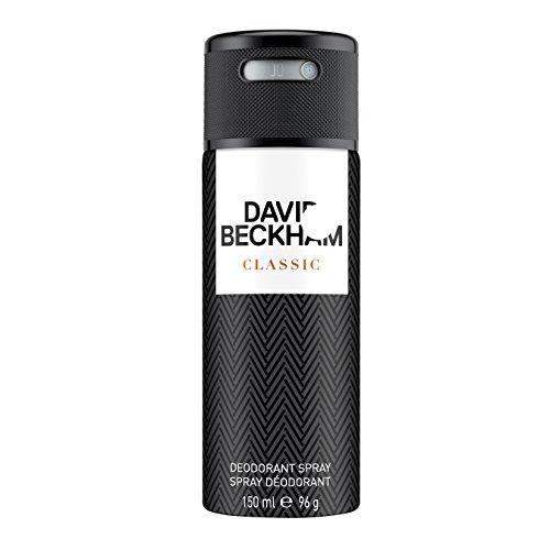 David Beckham Classic Deo Body Spray 150 ml, 1er Pack (1 x 150 ml)