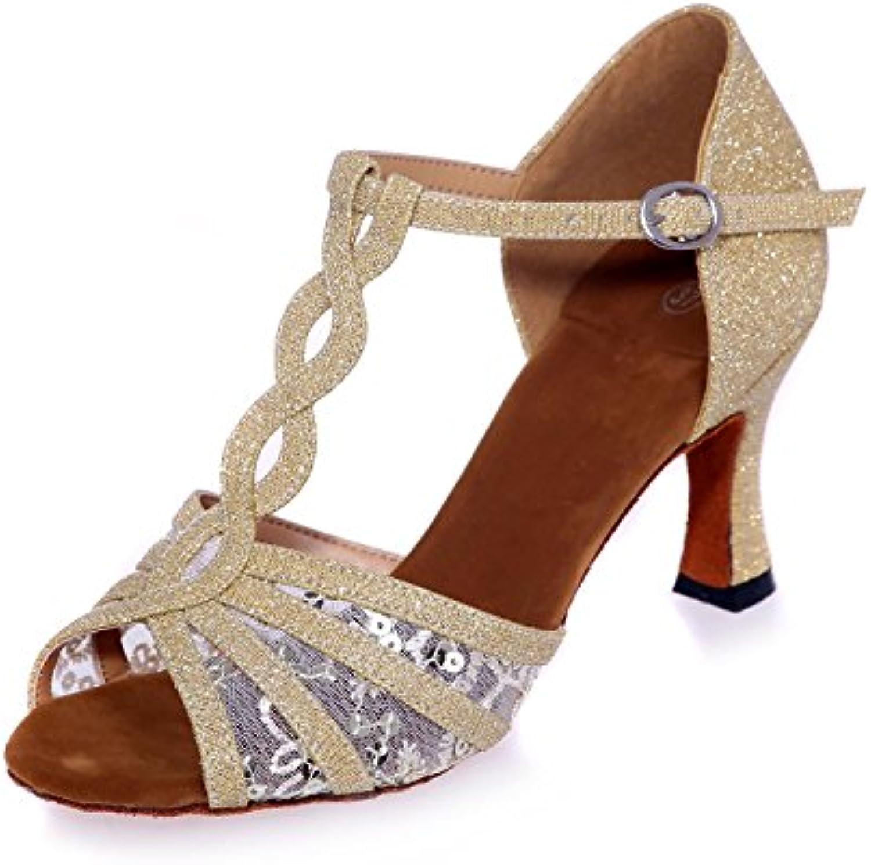L@YC Chaussures De Danse Latine des Femmes Talons Satin 7,5 Cm De Satin Talons De Danse  s Peuvent êTre PersonnaliséSB076N8J2B6Parent d82240