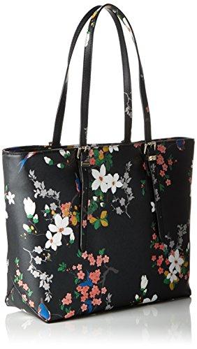 Isabeau Carryall Guess Einheitsgröße Schwarz Multi Damen Black Handtaschen qERnT45