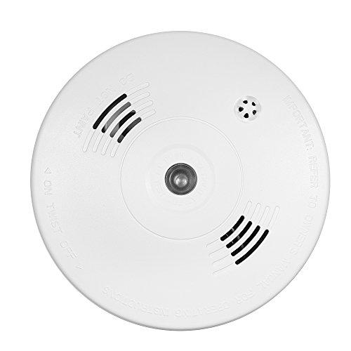 OWSOO Rauchmelder verdrahteter photoelektrischer Rauch Hitze Detektor Hoher empfindlicher Sensor...