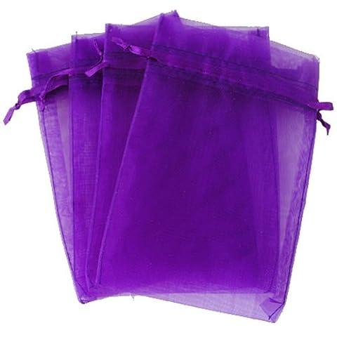 OurWarm® 100pcs Organza Pouch Bag Drawstring 4x6