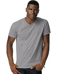 Hanes 498V Men's Nano-T V-Neck T-Shirt