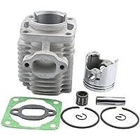 GOOFIT 40mm Bore Cylinder Kit con pistón para 2 tiempos 47cc 49cc Pocket Bike Mini Quad Chain Saw