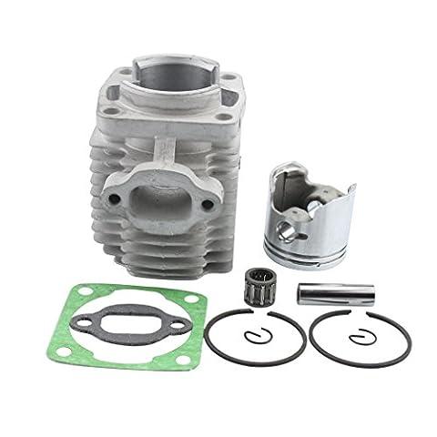 GOOFIT 40mm Cylinder Piston Assembly Kit for 47cc 2 Stroke Engine Mini Quad ATV Pocket Dirt Bike