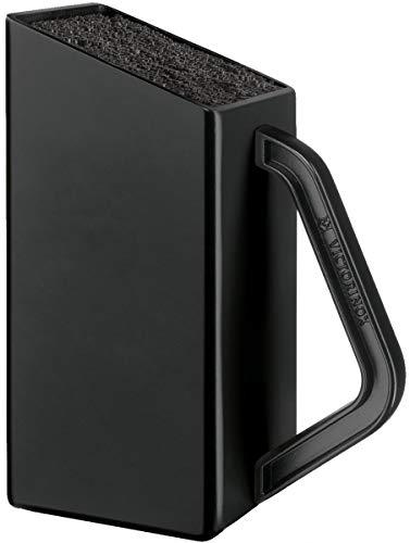 Victorinox Swiss Classic Universal Messerblock, Klein, Leer, Unbestückt, Kunststoff, Nylon Einsatz, schwarz