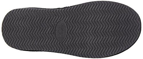 Bearpaw Knit Tall Chestnut Fur T, Bottes femmes Noir - Schwarz (BLACK II  011)