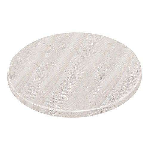 Chiner – Société de table ronde 80 cm blanc cassé