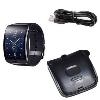 Leevin Samsung Galaxy Gear S Charger ,Leevin Charging Dock Cradle Station Charger with Cable for Smart Watch Samsung Galaxy Gear S