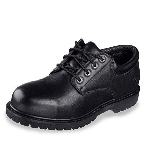 Skechers Work Arbeitsschuhe - Cottonwood ELKS 77041EC Black, Schuhgröße:EUR 43 Elk Schuhe