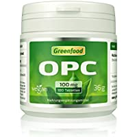 OPC, 100 mg reines OPC, hochdosiert, 180 Tabletten, vegan – der Super-Antioxidant. Gut für Herz und Kreislauf.... preisvergleich bei billige-tabletten.eu