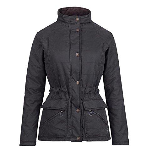 Jack Murphy Womens/Ladies Pam Vintage Wax-Look Cozy Country Jacket Rich Brown
