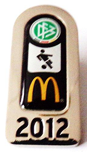 DFB & Mc Donald´s - Fußball Abzeichen 2012 - Pin 40 x 18 mm (Mcdonald Kostüm)