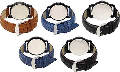 LOREM Analog Multi-Color Dial Men's & Boy's Combo Watch - AS12578