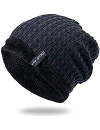 BABAYU Berretti in Maglia Cappello Invernale Unisex Cappello da Sci Molti  Colori da Selezionare 6fd8e07fcfbb