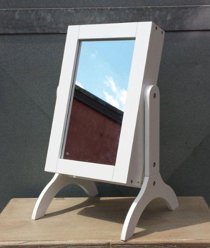 Schminkspiegel mit Schmuckschrank 52x29 Spiegel Spiegelschrank Schmuckschatulle