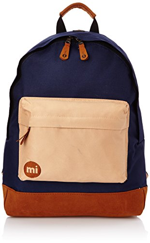 Mi-Pac Tonal, Mochila Tipo Casual, 41 cm, 17 Litros, Navy / Light Brown