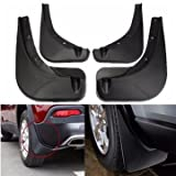 #7: Atoz prime Front & Rear Mudguard Mud Flaps Deluxe Molded Splash Guard For Jeep Renegade 2015 2016 2017