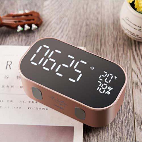 Homyl Reloj Despertador Digital Multifunción Altavoz
