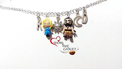 Bracciale Luna di My Life My Sun - Trono di Spade - Daenerys Targaryen Khaleesi - Khal Drogo