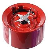 Base de mixeur et lames KitchenAid rouge empire (variation sur la version de base pour KSB555, KSB565 etc.)