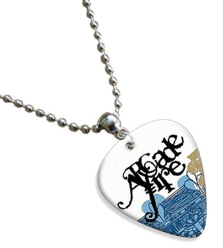 arcade-fire-premium-chitarra-pick-plettri-collana-necklace