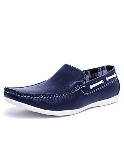 Shoemart Men's Blue Loafer Shoes