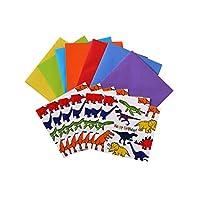 Dinosaur Birthday card pack (7 x cards)