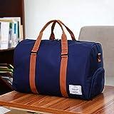 Chenyu borsa da palestra, borsa impermeabile Storaga borsone da sport allenamento borsetta con scomparto per scarpe, 35L grande viaggio tracolla 49* 23* 32cm per uomini, donne e bambini