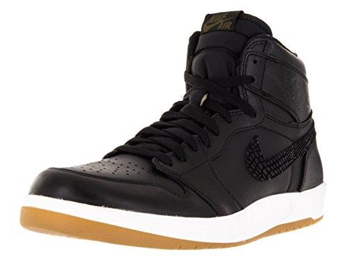 Nike - Air Jordan 1 High The Return, Scarpe sportive Uomo Nero / Verde / Bianco (Nero / Verde-Bianco Militia)
