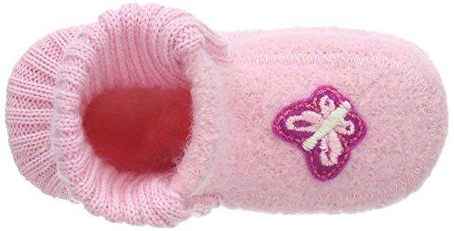 Nanga Schmetterling Baby Mädchen Krabbelschuhe Pink (rosa / 25)
