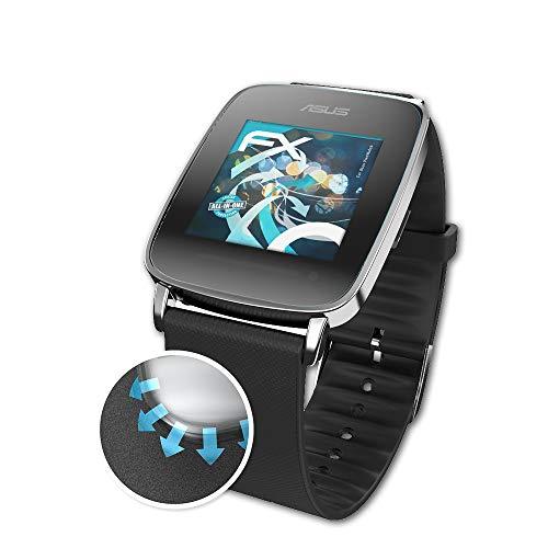 atFoliX Schutzfolie passend für Asus VivoWatch Folie, ultraklare & Flexible FX Bildschirmschutzfolie (3X)
