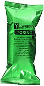 Yespresso Capsule Nespresso Compatibili Torino - Confezione da 100 Pezzi