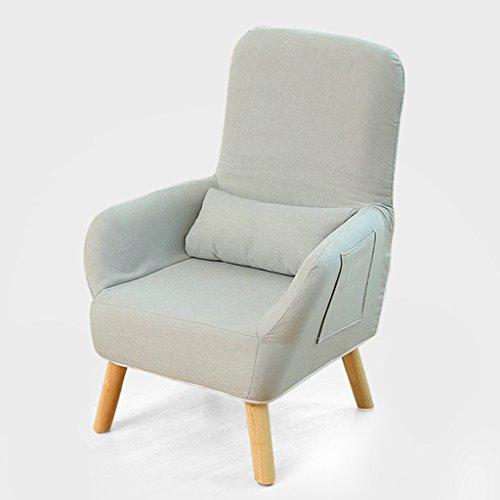 Chaise simple d'allaitement de chaise de chaise longue de dossier de chaise d'alimentation de tabouret (Couleur : Gris, taille : L)