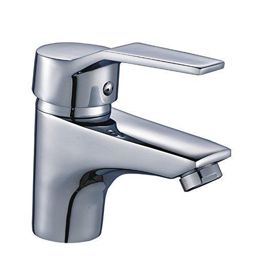 Preisvergleich Produktbild Auralum® Elegant Einhebel Mischbatterie Wasserhahn Armatur Waschtischarmatur Wasserfall Einhandmischer für Bad Badezimmer Waschbecken Spüle