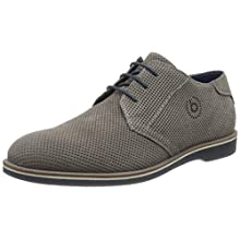 bugatti Men's 311647061400 Derbys, Grey, 11 UK