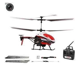 3.5 Kanal XL (fast 50cm lang) RC ferngesteuerter Kamera-Hubschrauber inkl. CRASH-KIT, Helikopter mit 2,4GHz, Ready-to-Fly Heli-Modell