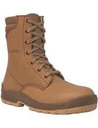 Jallatte - Chaussures De Sécurité En Cuir Pour Les Hommes, Brun, Taille 35 Eu