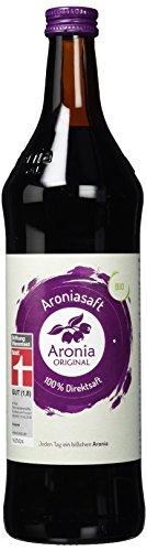 Aronia Original Bio Aroniasaft 100% direkt gepresster Muttersaft, 2er Pack (2 x 700 ml)