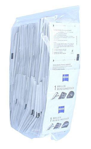 ZEISS - 100 Brillen-Reinigungstücher in neutraler Verpackung - alkoholfrei
