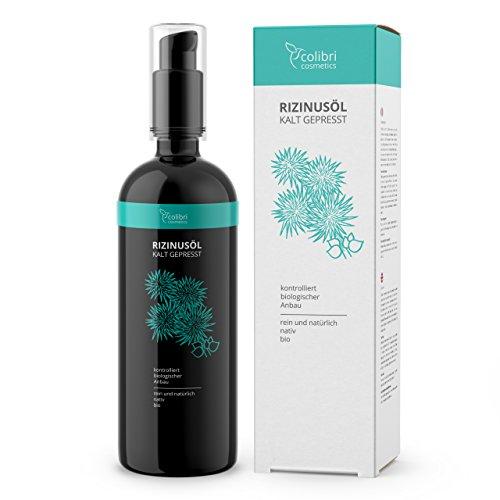 Bio-Rizinusöl von Colibri Cosmetics