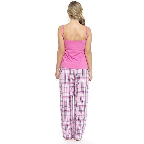 Foxbury - Bas de pyjama - Femme Pink Check