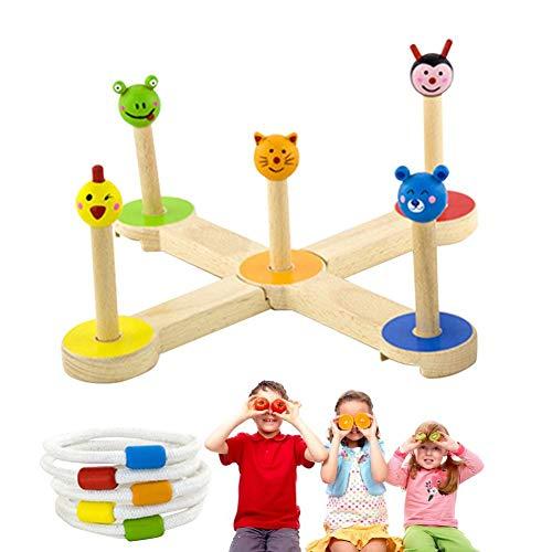 Ring Wurfspiele Für Kinder, Outdoor-Spielzeug Halten Sie Kinder aktiv Spaß Familie Eltern-Kind-Unterhaltung Outdoor-Spiele ()