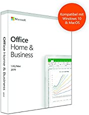 Microsoft Office 2019 Home and Business | PC (Windows 10) / Mac | multilingual | Box|Standard|1 PC (Windows 10) / 1 Mac|Permanent|PC (Windows 10) /Mac|Download|Download