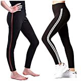 Fitg18 Gym wear Leggings Ankle Length Free Size Combo Workout Trousers | Stretchable